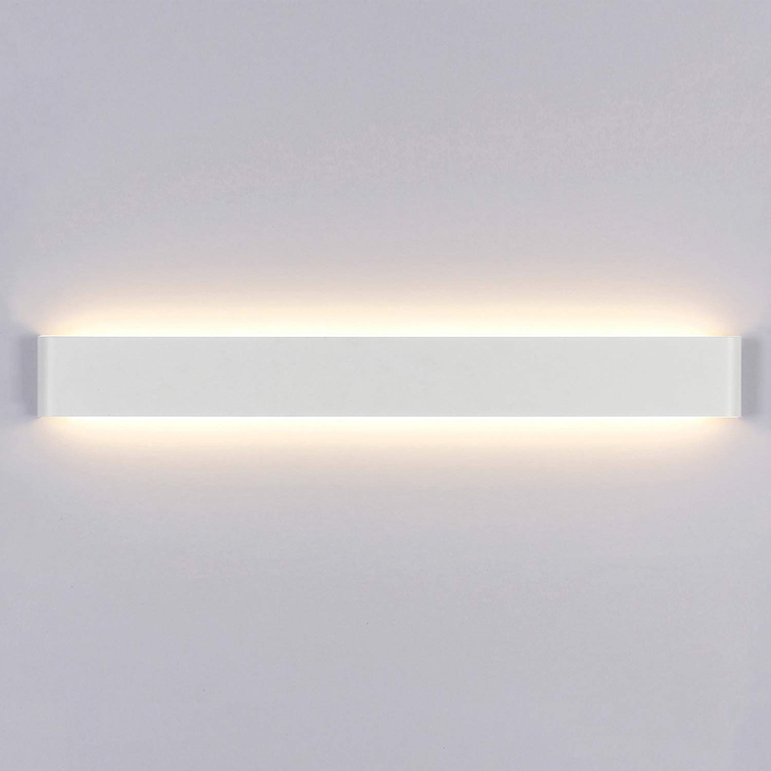 Yafido Aplique Pared Interior LED 90CM Lámpara de pared 30W 3000K Blanco Cálido para Salon Dormitorio Sala Pasillo Escalera AC 220V: Amazon.es: Iluminación