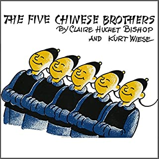 The Five Chinese Brothers audiobook cover art