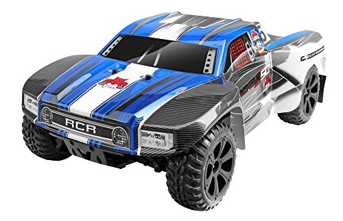 Redcat Racing Blackout SC PRO 1/10 Scale Brushless Electric Short Course Truck with Waterproof Electronics Vehicle, Blue