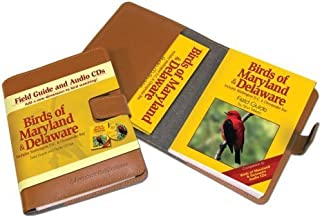 Birds of Maryland & Delaware Field Guide and Audio CD Set by Stan Tekiela (2005) Leather Bound