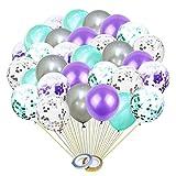 30 Piezas Globos de Confeti Con Lentejuelas, Globos de Fiesta, Reutilizados, Adecuados Para Bodas, Cumpleaños, Baby Shower, Ceremonia de Graduación, Decoración de Fiesta de Ceremonia