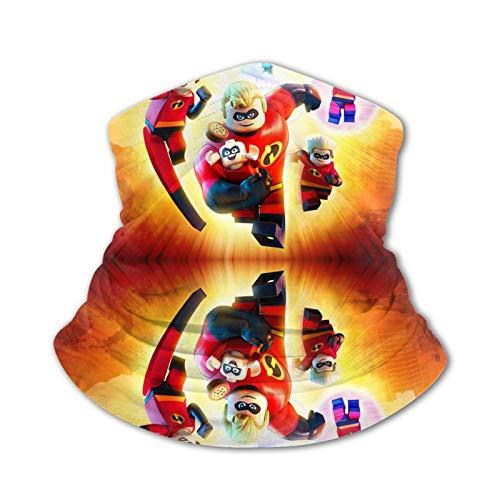 L-E-G-O He-Ro fa-ce Shield Gesichtsschutzma-sken mit Filtro de cuello calentador facial reutilizable lavable desechable Reino Unido solo protección contra el polvo para niños, niños y niñas Bicicleta