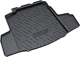 Custom Tailored Fit Black Rubber Boot Liner Tray Mat Front And Rear Trunk Mats Floor Mat Waterproof for Bui-ck GL6/Regal/E...