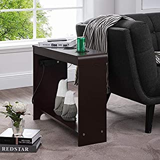 side table with power and usb