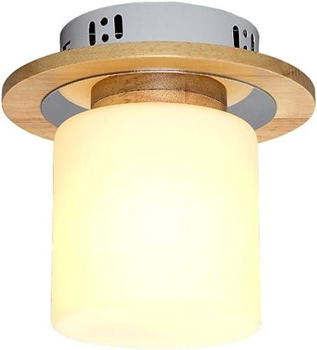 Journal Led Plafonnier, Allée Lampe Corridor Lampe Porte Lampe Simple Moderne Chambre Lampe Bois Art En Bois Lampe (taille   B)