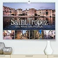 Saint Tropez - Early Morning Street Photography (Premium, hochwertiger DIN A2 Wandkalender 2022, Kunstdruck in Hochglanz): Einzigartige Aufnahmen morgens um 6. (Monatskalender, 14 Seiten )