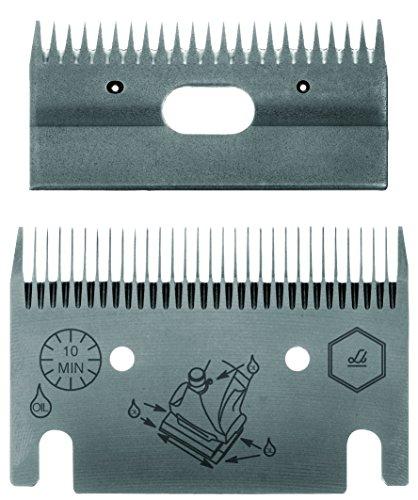 Lister Schermesser-Messersatz LI 122 1 mm für Pferde und Euterschur