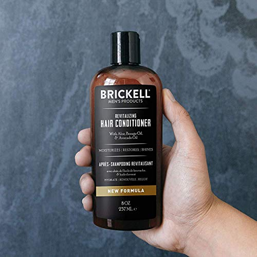Brickell Men's Products Après-Shampooing Revitalisant – Naturel et Bio (236 mL)