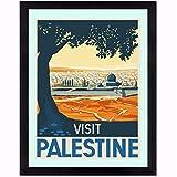 Visitar Palestina Lienzo Arte de la pared Pintura en lienzo Póster Imagen impresa Decoración de la s...
