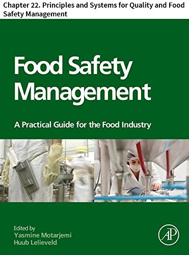 Food Safety Management: Chapter 22. Principles and Systems...