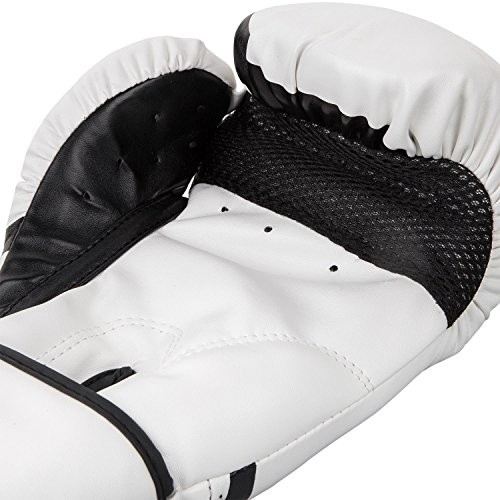 Venum Challenger 2.0 Boxing Gloves, White, 12-Ounce