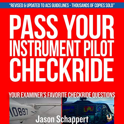 Pass Your Instrument Pilot Checkride audiobook cover art