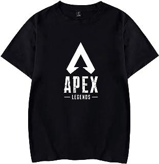Pandolah メンズ シャツ Tシャツ ゲームロゴ APEX LEGENDS エーペックスレジェンズ 人気 キャラクター 半袖