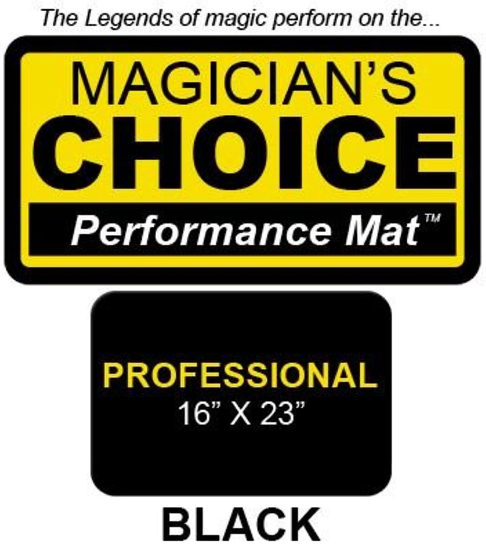 Magic Trick   Professional CloseUp Mat (BLACK  16x23) by Ronjo