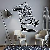 BailongXiao Chef de Moda Pegatinas de Pared Pegatinas de Pared Pegatinas decoración del hogar decoración del hogar Sala de Arte decoración Accesorios 54x59cm