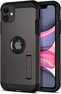 Spigen 076CS27189 Tough Armor Designed for Apple iPhone 11 Case (2019) - Gunmetal, Gunmetal