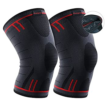 Kuangmi Knee Brace Compression Sleeve – Basketball Knee Pads