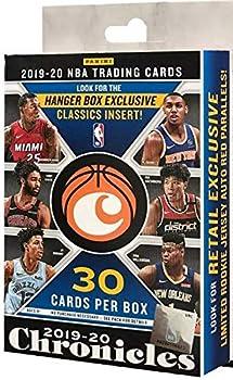 2019/20 Panini Chronicles NBA Basketball HANGER box  30 cards/bx
