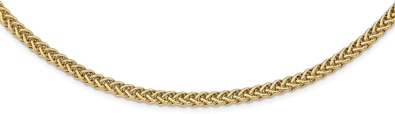 4.3mm 14ct poliert Fancy Link Halskette–43cm