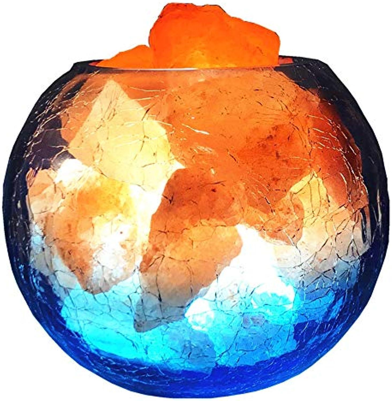 YYMM Salz Lampe, Himalaya Kristall Salz Lampe Negativion Feng Shui kreative Verdunkelung Nachtlicht Schlafzimmer Nacht Dekoration Lampe Nachtlicht,12  15cm