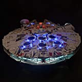 PeleusTech LED Lighting Kit for Lego Star Wars Ultimate Millennium Falcon 75192 - LED Included Only, No Lego Kit
