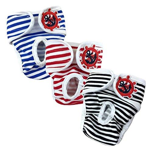 S de Compra 3Pack lavable–Pantalón Higiene Calzoncillos de Algodón para hündin