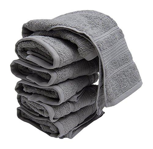Ottomanson CTW1003-13X13 8 Piece Turkish Cotton Towels, 13'...