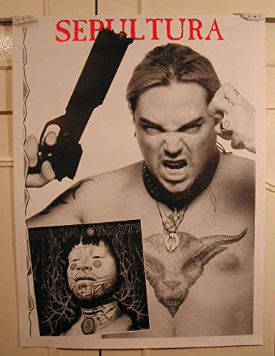 Sepultura Satriani-Rückseite, 60 x 80 cm) Kunstdruck/Poster