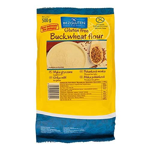 Farine de sarrasin sans gluten 500g BEZGLUTEN