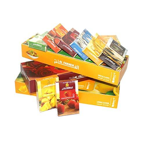 AL Fakher Shisha Flavour Hookah Accessoires Chichas Flavours 50g 10pcs