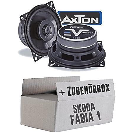 Skoda Fabia 1 6y Combi Rear Speaker Boxes Autotek Atx 462 2 Way Oval 10 X 15 Cm Coax Speaker 4 X 6 Inch Car Installation Accessories Navigation Car Hifi