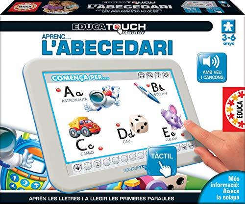 Educa Touch – Tablette d'Apprentissage L'abécédaire en Catalan