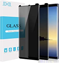 AOKER for Galaxy Note 8 Privacy Screen Protector Tempered Glass Film, 3D Curved Edge Case Friendly Easy Install Anti Spy/Scratch Compatible Samsung Galaxy Note 8 Replacement Warranty