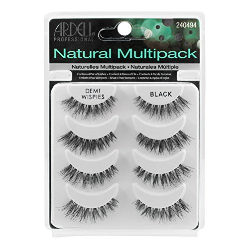 Ardell 4 Pairs Demi WISPIES Natural Multipack False Eyelashes Fake Lashes...
