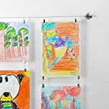 March Brands | Art Display Kids | Art Hanging Kit with Clips