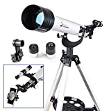 Telescope for Beginners Adults or Kids 60mm Refractor Telescope with...