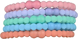 Easy-Release Clasp - Secure Hold - No Damage - Great for ANY Sport (Pastel)