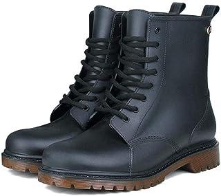 TANGT Bottes de pluie pour homme Bottes de pluie Bottes de pluie Chaussures de jardin Noir 39-42