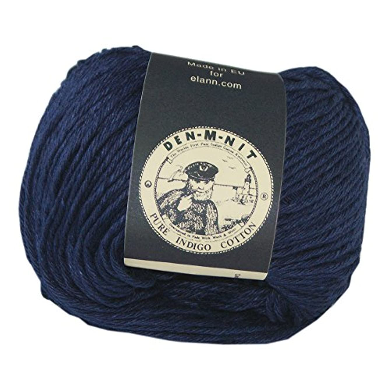 elann Den-M-Nit Yarn | 10 Ball Bag | Dark Indigo