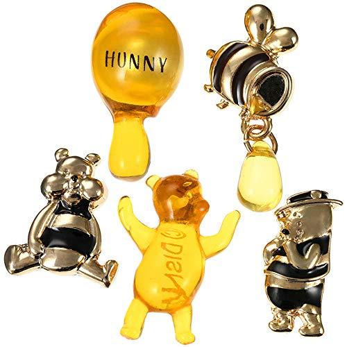 『ディズニーストア(公式)プーさん ピアス セット Hunny Funny Sunny』のトップ画像