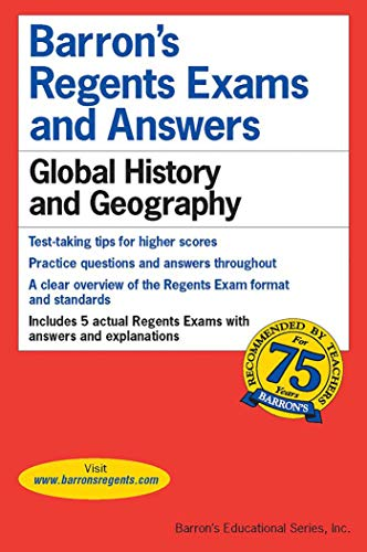 Download Regents Exams and Answers: Global History and Geography (Barron's Regents NY) 0812043448