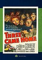 Three Came Home [DVD]