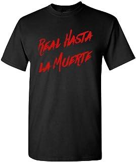 Real hasta La Muerte T-Shirt Anuel AA Album T-Shirt Adult Fan Concert Size S-2XL