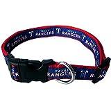 MLB TEXAS RANGERS Dog Collar, Large