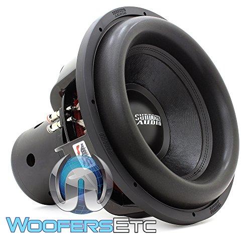 Sundown Audio NS-15 V.4 D1 15' 2500 Watt RMS Dual 1-Ohm Nightshade V.4 Series Subwoofer