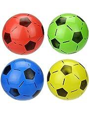 لعبة كرة القدم الصغيرة القابلة للنفخ لكرة القدم، 6 قطع (ألوان عشوائية)