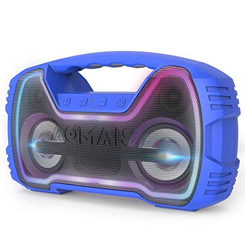 Portable IPX7 Waterproof Bluetooth Speakers, Wireless Home Party Speaker