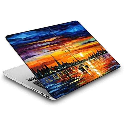 Print Painting Laptop Case For Macbook Air 13 Inch ,Cover Shell Case For Mac Book 2020 New Pro Retina 13 11 12 15 16 Touch Bar