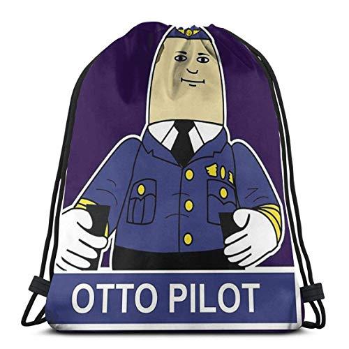 Hdadwy Otto Der aufblasbare Pilot Wasserdichter Faltbarer Sport Sackpack Sporttasche Sack Kordelzug Rucksack