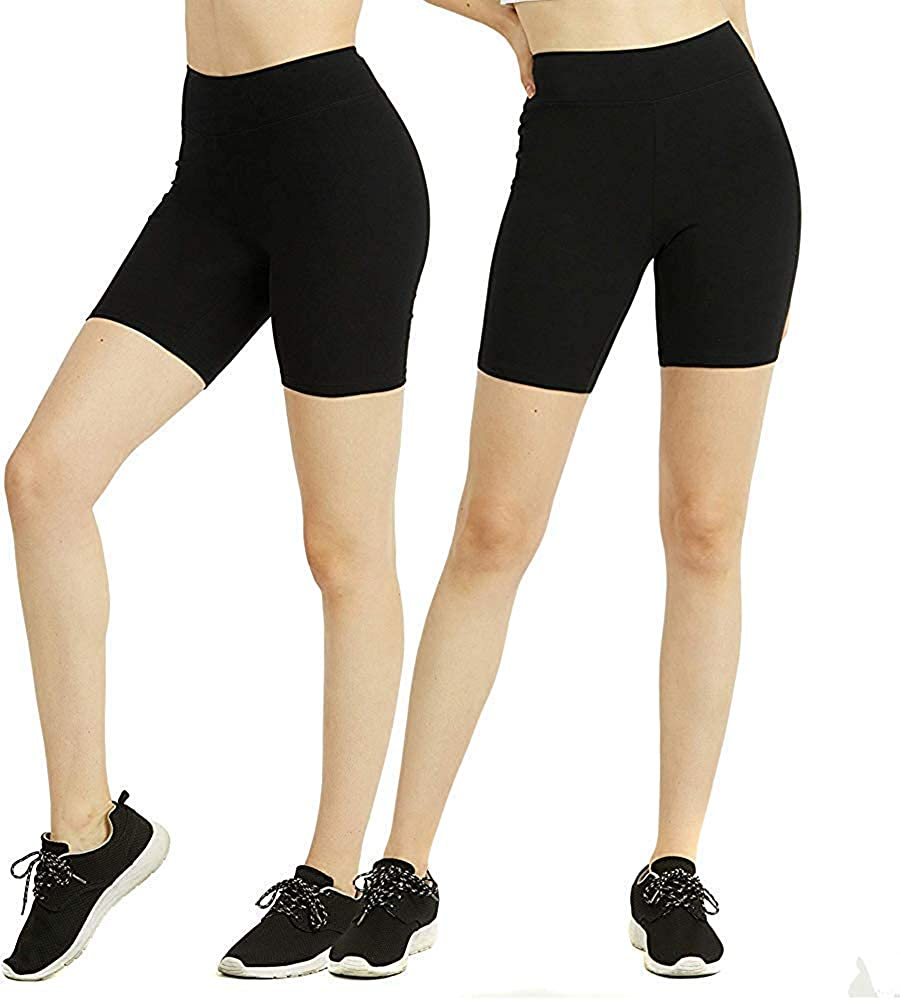 Buy Fashiol Yoga Shorts for Boys and Girl's High Waist Tummy Control Short  Leggings Best Workout Cotton Pants Size 15-16 Years Black at Amazon.in